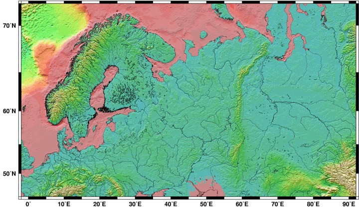 Index To World Topographic - Global topographic map