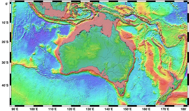 Index To World Topographic - World topography