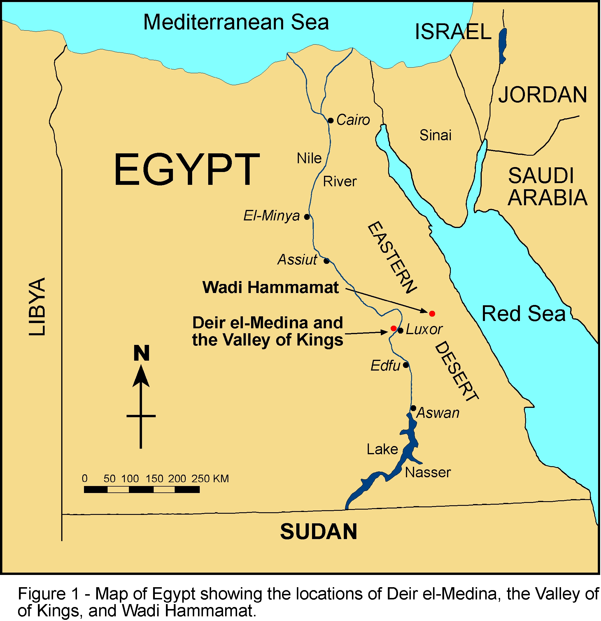 Article Text - Map of egypt 2000 bc